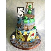 Торт Angry Birds (3057)
