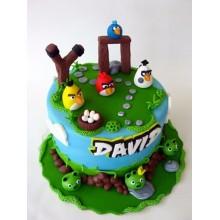 Торт Angry Birds (3058)