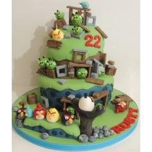 Торт Angry Birds (3059)