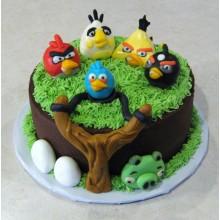 Торт Angry Birds (3061)