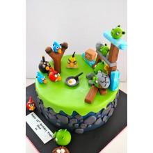 Торт Angry Birds (3063)