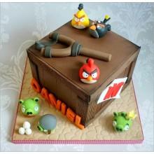 Торт Angry Birds (3064)