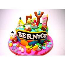 Торт Angry Birds (3065)