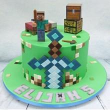 Торт Minecraft (3067)