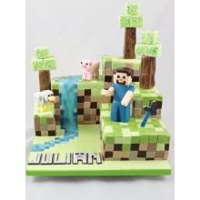 Торт Minecraft (3072)