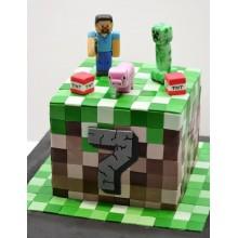 Торт Minecraft (3073)
