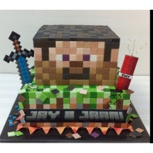 Торт Minecraft (3074)