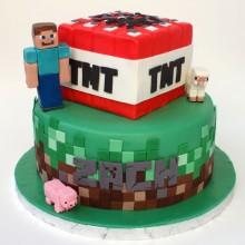 Торт Minecraft (3075)