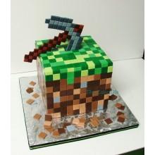 Торт Minecraft (3076)