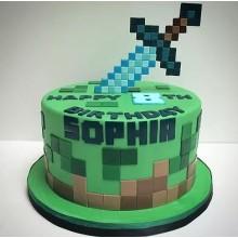 Торт Minecraft (3077)