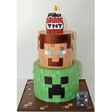 Торт Minecraft (3078)