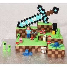 Торт Minecraft (3079)