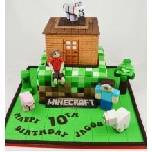Торт Minecraft (3082)