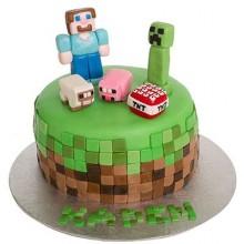 Торт Minecraft (3083)
