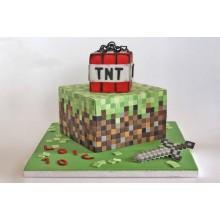 Торт Minecraft (3084)