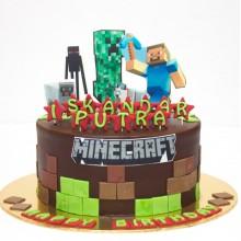 Торт Minecraft (3085)