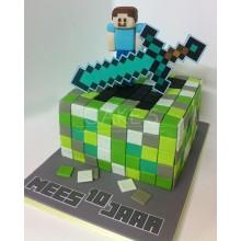Торт Minecraft (3086)