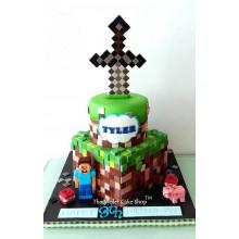 Торт Minecraft (3089)