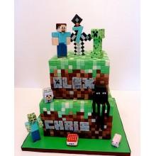 Торт Minecraft (3090)