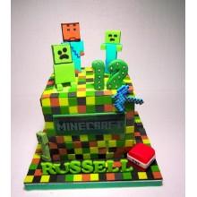Торт Minecraft (3091)