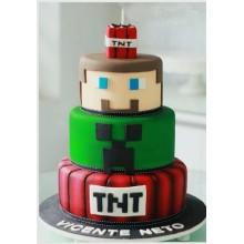 Торт Minecraft (3092)