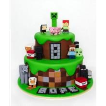 Торт Minecraft (3093)