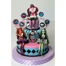 Торт Monster High (3127)