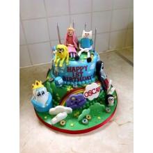Торт Время приключений (3205)