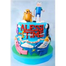 Торт Время приключений (3211)