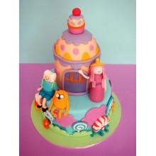 Торт Время приключений (3212)
