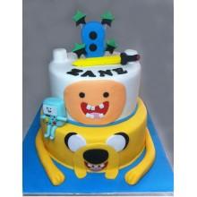 Торт Время приключений (3214)