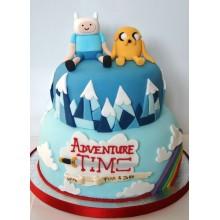 Торт Время приключений (3216)