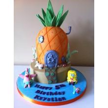 Торт Губка Боб (3316)