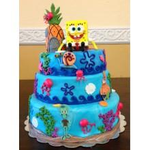 Торт Губка Боб (3318)