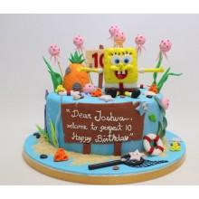 Торт Губка Боб (3319)