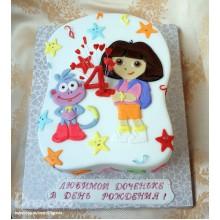 Торт Даша следопыт (3335)