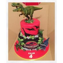 Торт Драконы и динозавры (3343)
