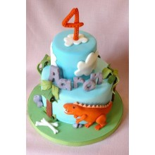 Торт Драконы и динозавры (3344)