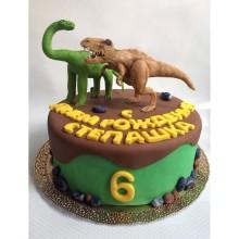 Торт Драконы и динозавры (3345)