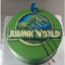 Торт Драконы и динозавры (3347)