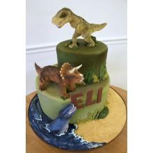 Торт Драконы и динозавры (3348)