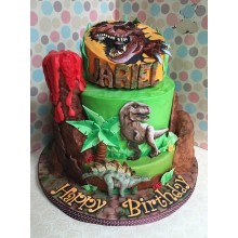 Торт Драконы и динозавры (3349)