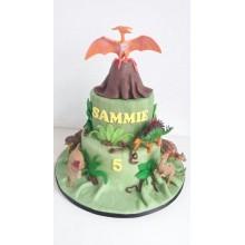 Торт Драконы и динозавры (3350)