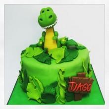 Торт Драконы и динозавры (3356)