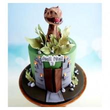 Торт Драконы и динозавры (3359)