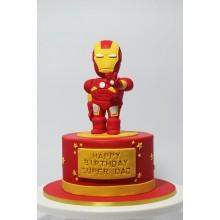 Торт железный человек (3360)