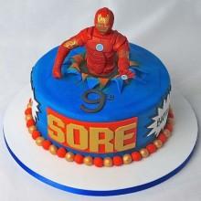Торт железный человек (3362)