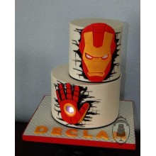 Торт железный человек (3366)