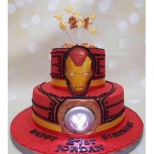Торт железный человек (3367)