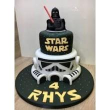 Торт звездные войны (3387)
